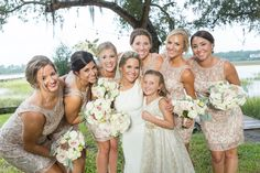 Romantic Lowcountry Affair at River Oaks in Charleston I Photography: Richard Ellis Photography