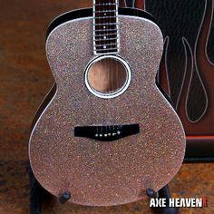 Glitter Acoustic Guitar