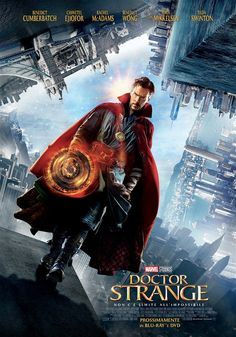 Marvel has released an extended look at their upcoming movie, Marvel's Doctor Strange, featuring stars Benedict Cumberbatch, Chiwetel Ejiofor and Tilda Swinton Marvel Doctor Strange, Doctor Strange Poster, Dr Strange Movie, Films Marvel, Marvel Heroes, Marvel Avengers, Marvel Movie Posters, Marvel Lee, Poster Marvel