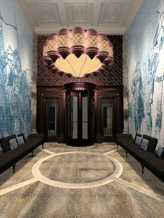 Bank Club Lobby - Wuhan China - 2014  by Rui Garcia, via Behance