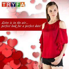 New Fashion Trends, New Trends, Latest Dress For Girls, Perfect Date, Valentine Special, Latest Tops, Special Dresses, Tshirts Online, Dresses Online