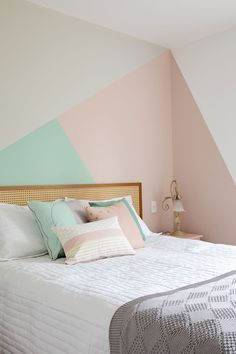 23 Trendy Home Interior Ideas Apartment Decor Room Wall Painting, Room Paint, Bedroom Colors, Bedroom Decor, Bedroom Wall Designs, Girl Room, Room Inspiration, Home Decor, Interior Decorating