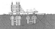 The temples of consumption: Kiyonori Kikutake, Floating Architecture, Japanese Architecture, City Architecture, Concept Architecture, Captador Solar, Metabolist, Marine City, Sticker Chart, Space City