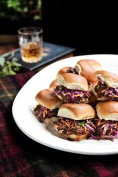 Pulled Brisket Sandwiches with Sesame Slaw | Learn how to make Pulled Brisket Sandwiches with Sesame Slaw . MyRecipes has 70,000  tested recipes and videos to help you be a better cook