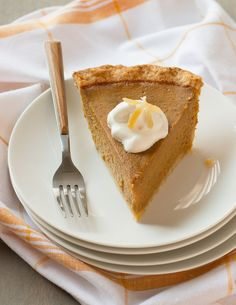 Pumpkin Pie with Gin
