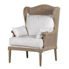 Oak Wing Chair - La Maison Chic Furniture Company Online