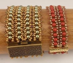 Beading Tutorial for Motley Cuff Bracelet