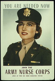 Here's an old school Army Nurse Corps enlistment poster