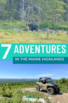 The Maine Highlands, including Baxter State Park, Mt. Katahdin, Moosehead Lake, and Millinocket Lake, is ripe for outdoor adventures. Here are a few to add to your next Maine vacation. Baxter State Park, Outdoor Centre, Float Trip, New England Travel, Winter Mountain, Whitewater Rafting, Canoe And Kayak, Appalachian Trail, Usa Travel