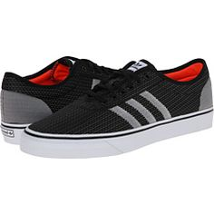 new style 2faab cfbc8 Adidas skateboarding adi ease woven core black white solar red at 6pm.com