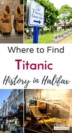 When Ghosts You Never Knew Haunt You If you're a Titanic buff, you MUST visit Nova Scotia. Find out where to see Titanic history. Nova Scotia Travel, Visit Nova Scotia, Alberta Canada, Ottawa, Canada Cruise, Ontario, Vancouver, Literary Travel, Titanic History