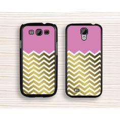 chevron Samsung case,pink golden chevron,samsung Note 3,chevron samsung Note2 case,pink chevron Galaxy S3,Galaxy S4 case,golden chevron Galaxy s5