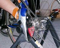 Perfect your pedaling! Bike trainer workouts