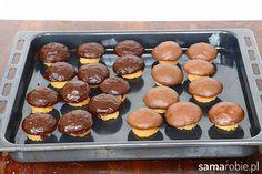 Ciastka grzybki czekolada mleczna i gorzka Cannoli, Griddle Pan, Truffles, Tiramisu, Biscuits, Muffin, Good Food, Sweets, Cookies