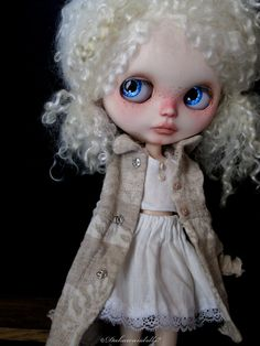 RESERVED / One Customized OOAK Blythe Doll Neige by Dakawaiidolls
