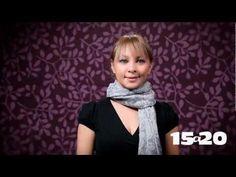Mil formas de usar una pashmina ;) - YouTube