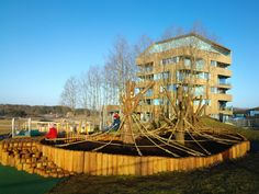 Skadbergbakken Playground, Helen and Hard, Sola, Norway, 2015 - Playscapes