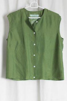 cocon.commerz PRIVATSACHEN ÄQUITALENT Hemd aus Wäscheseide in grün Größe 2