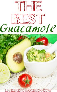 How to make this guacamole recipe as dynamite as its' reputation indicates! Best Guacamole Recipe, Avocado Recipes, Guacamole Dip, I Love Food, Good Food, Yummy Food, Healthy Snacks, Healthy Eating, Healthy Recipes