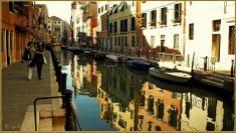 La Fondamenta et le rio Marin, dans le Sestier de Santa Croce à Venise.