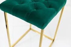Image result for velvet stools