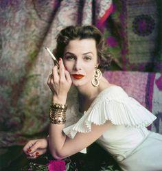 Lillian Markuson - 1954 - Photo by Milton Green.