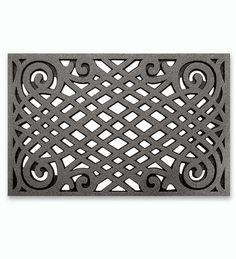 Rubber Celtic Lattice Mat   Doormats   Plow