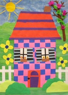 Image result for different homes art project for kids