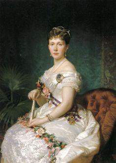 La Infanta Isabel de Borbón (1880, Patrimonio Nacional. Palacio Real de Madrid)