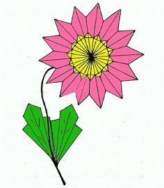 Esquemas de origami - a Natureza (Astra - segunda versão)