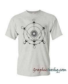 Vintage Astronomy Drawing Tee Shirt