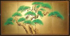 Google Image Result for http://www.fujiarts.com/japanese-prints/screens/039pinetree.jpg