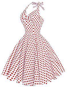 GRACE KARIN Women's Vintage 50s Rockabilly Halter Short Cocktail Party Dress at Amazon Women's Clothing store:  https://www.amazon.com/gp/product/B01F87P6WQ/ref=as_li_qf_sp_asin_il_tl?ie=UTF8&tag=rockaclothsto-20&camp=1789&creative=9325&linkCode=as2&creativeASIN=B01G503KEQ&linkId=07ff2eb0401ac5c48a221316858439ce&th=1