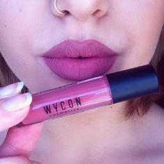 I'm on my way to find the perfect nude lip color   Wjcon Longlasting Liquid Lipstick in 05 Beige Rosato