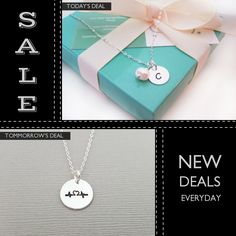 Today Only! 12% OFF this item.  Follow us on Pinterest to be the first to see our exciting Daily Deals. Today's Product: Sale -  Bridesmaid Necklace - Simple Jewelry - Pearl Necklace - Initial Necklace - Sterling Silver - Freshwater Pearl - Bridesmaid Gift Buy now: https://www.etsy.com/listing/230263635?utm_source=Pinterest&utm_medium=Orangetwig_Marketing&utm_campaign=Daily%20Deal #etsy #etsyseller #etsyshop #etsylove #etsyfinds #etsygifts #musthave #loveit #instacool #shop #shopping…