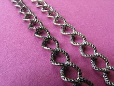 3.28 Feet 1 meter 8.5 mm Textured #Twisted #Chain http://etsy.me/1F2heOK #jewelry #ring #mount #brass #gem #bezel #setting #bead