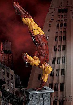Hard Hero★daredevil Yellow Dealer Exclusive Artist Proof Statue AP 15 50★MARVEL | eBay