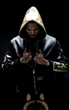 Chris Brown Models For BAPE Black Label F/W 2015 | UpscaleHype