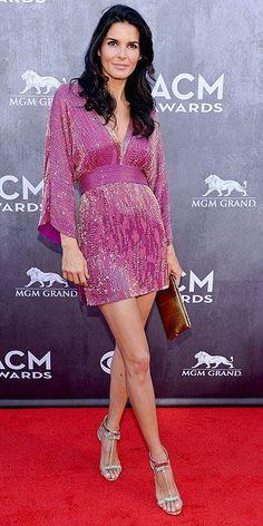 ACM Awards 2014 : Angie Harmon