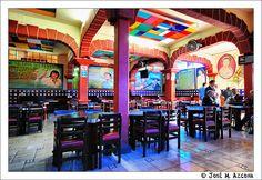 Interior Cantina La Tenampa (Plaza Garibaldi). Mexico DF                        by josemazcona, via Flickr