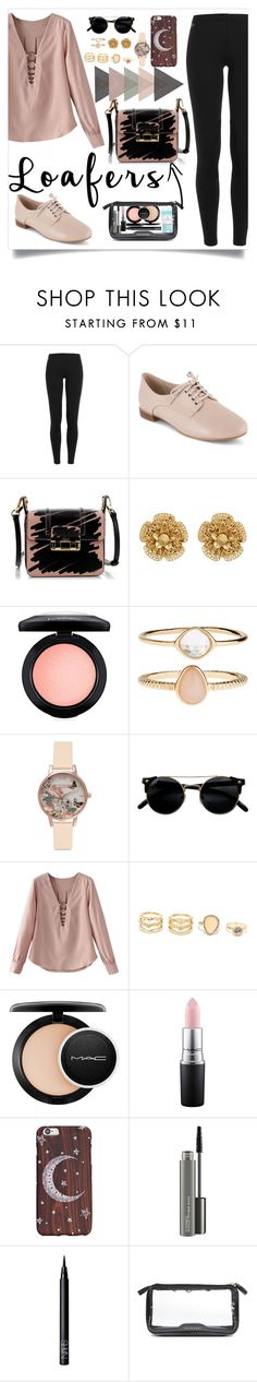 """Untitled #87"" by edelma21 ❤ liked on Polyvore featuring Polo Ralph Lauren, Clarks, Lanvin, Miriam Haskell, MAC Cosmetics, Accessorize, Olivia Burton, LULUS, NARS Cosmetics and Anya Hindmarch"