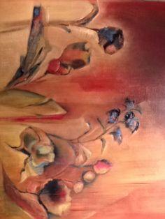 Painting in progress.