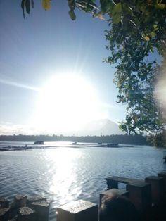 A magnificent view of sunrise at Sampalok Lake, San Pablo, Laguna Sunrise, San, Spaces, Beach, Water, Outdoor, Water Water, Outdoors, Aqua