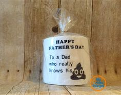 Father's Day Toilet Paper Gift