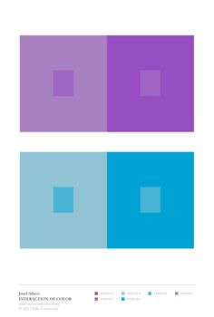 "Its fascinatingly impossible to see these colors ""accurately"", or as Albers would say, ""factually"""