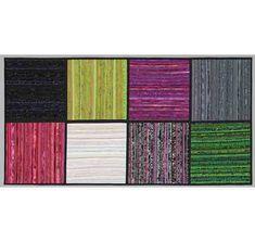 """Modern art quilt. Home decor. Wall hanging. Color study. Wall art. Abstract fiber art. 24x48"""" Original quilt. Minimalist. Textile art."""