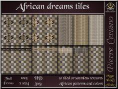 African dream tiles