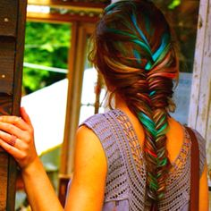 cool color in the hair!