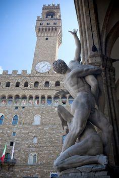 Palazzo Vecchio - Florença - Itália    Firenze - Italy