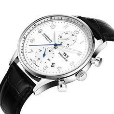 TSS Men's White Dial Silver Blue Hand Black Leather Band Quartz Movement Wrist Watch Generic http://www.amazon.com/dp/B00S9MGHLM/ref=cm_sw_r_pi_dp_a2mfvb13ZGP0J